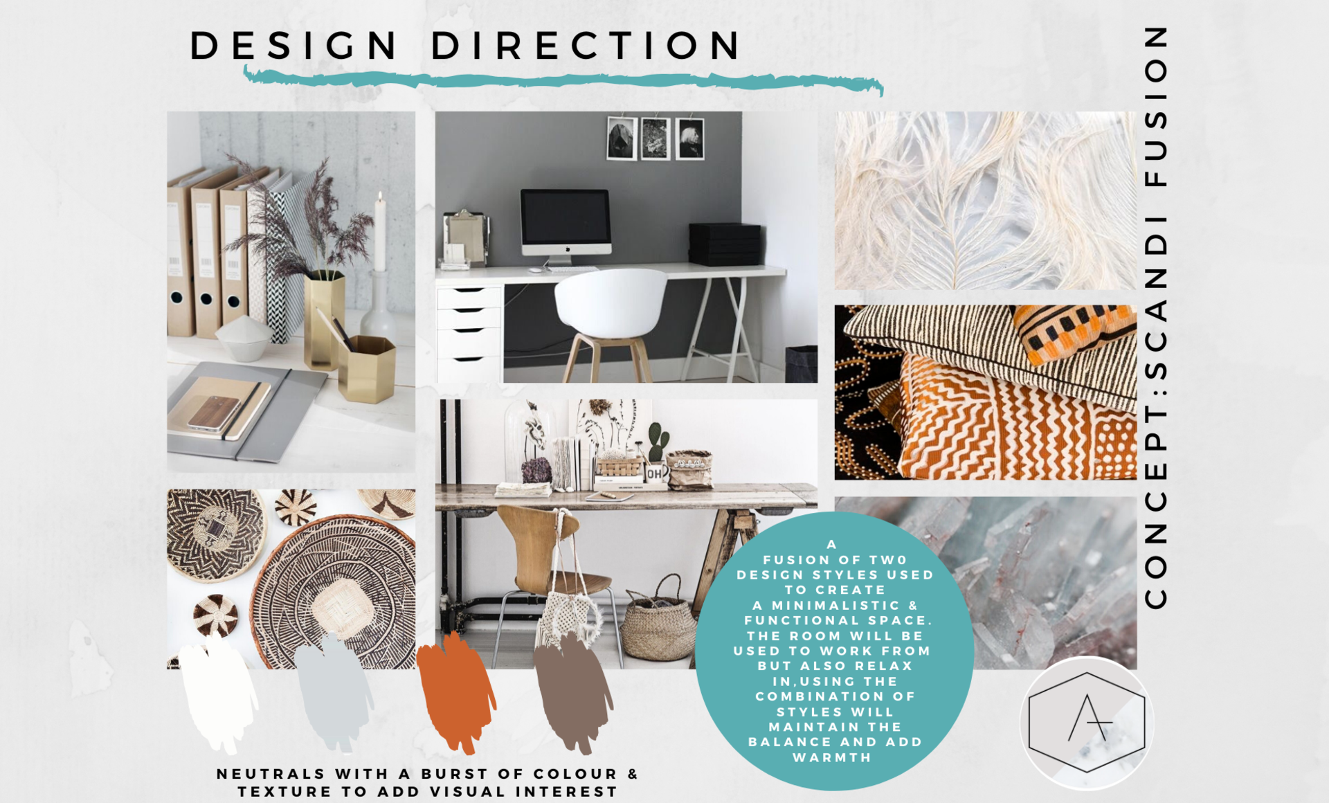 Home office refresh design direction