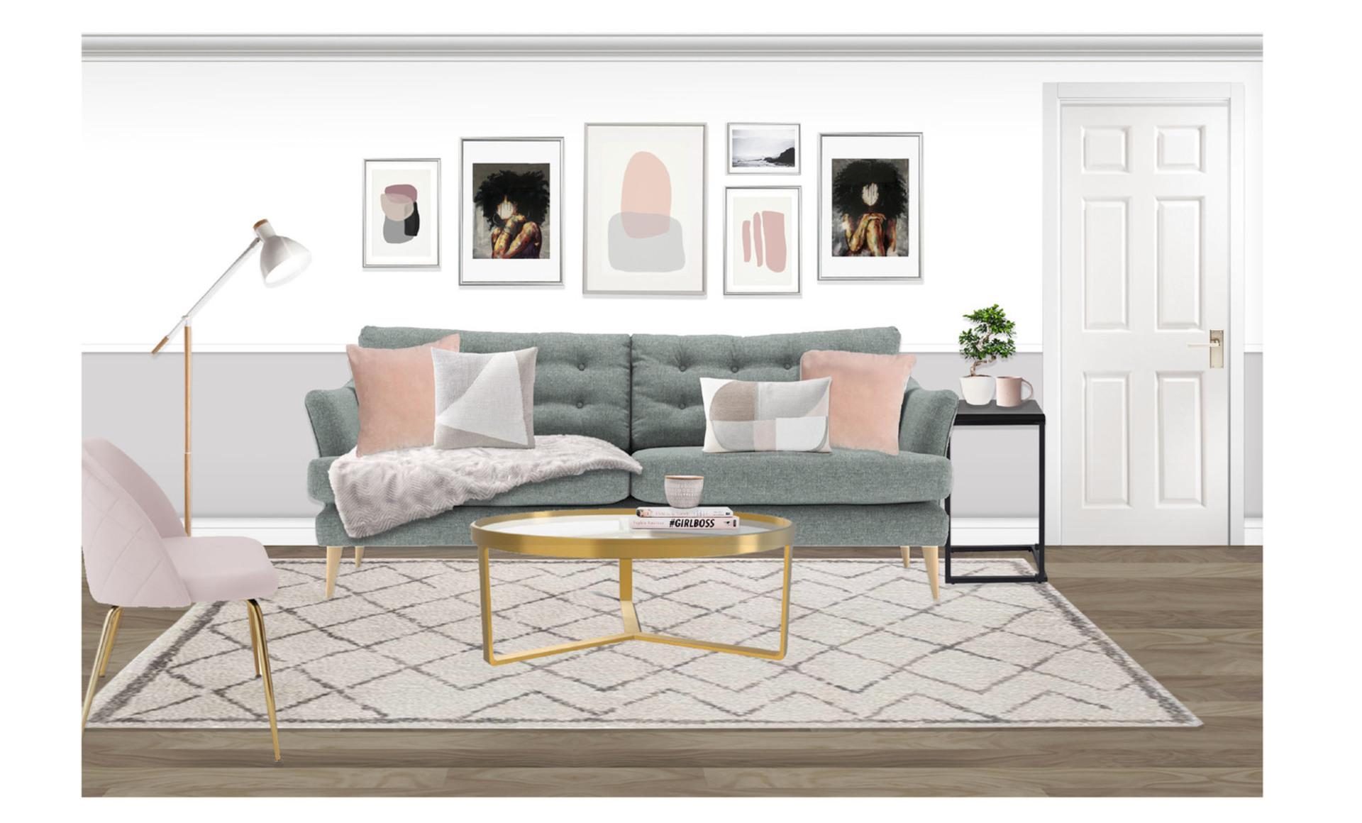 Final design  sofa visual