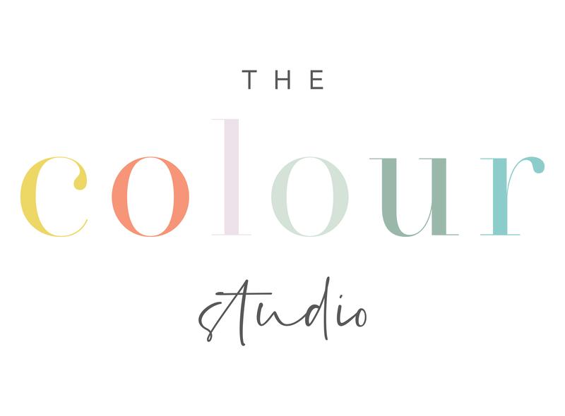 The colour studio primary logo