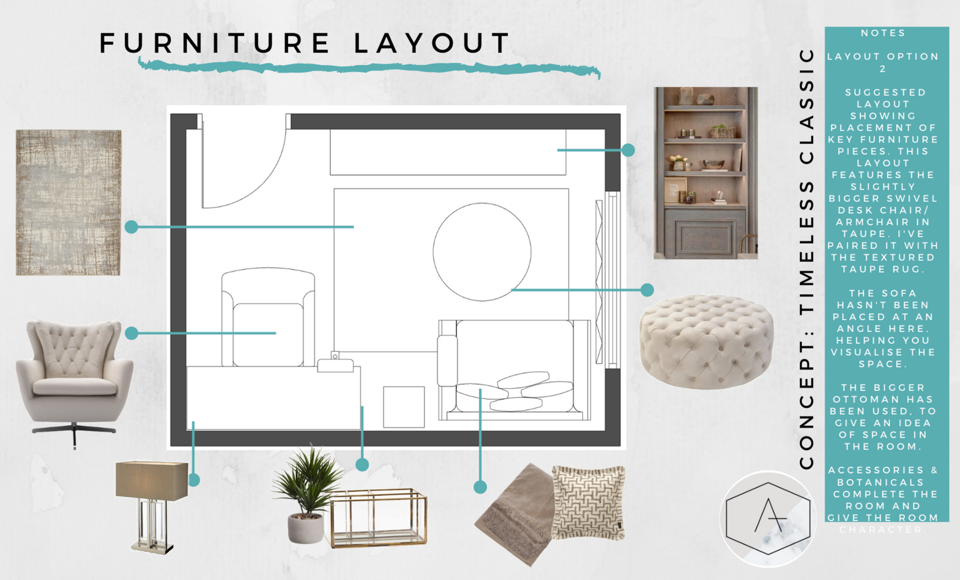 7. study room furniture layout 2