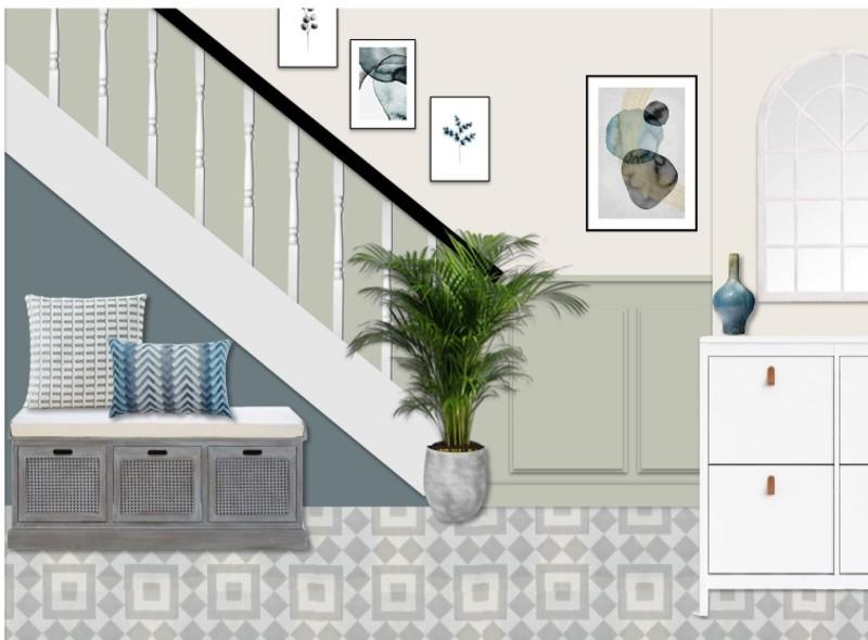 Christopher king   living room and hallway