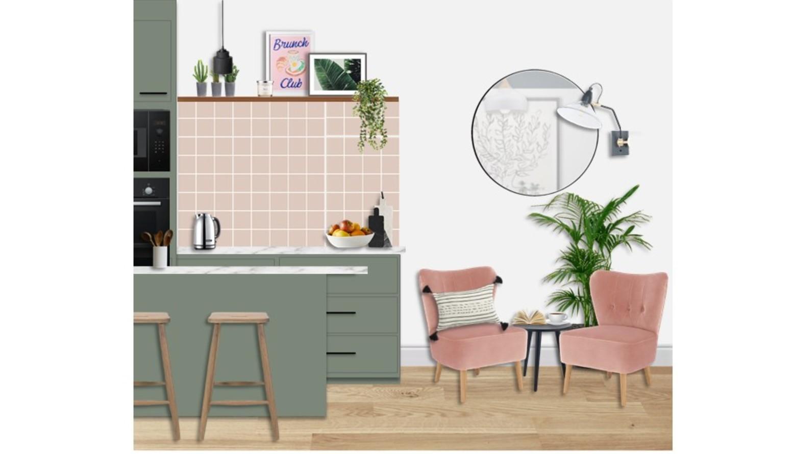 L flat   kitchen dining vis 2