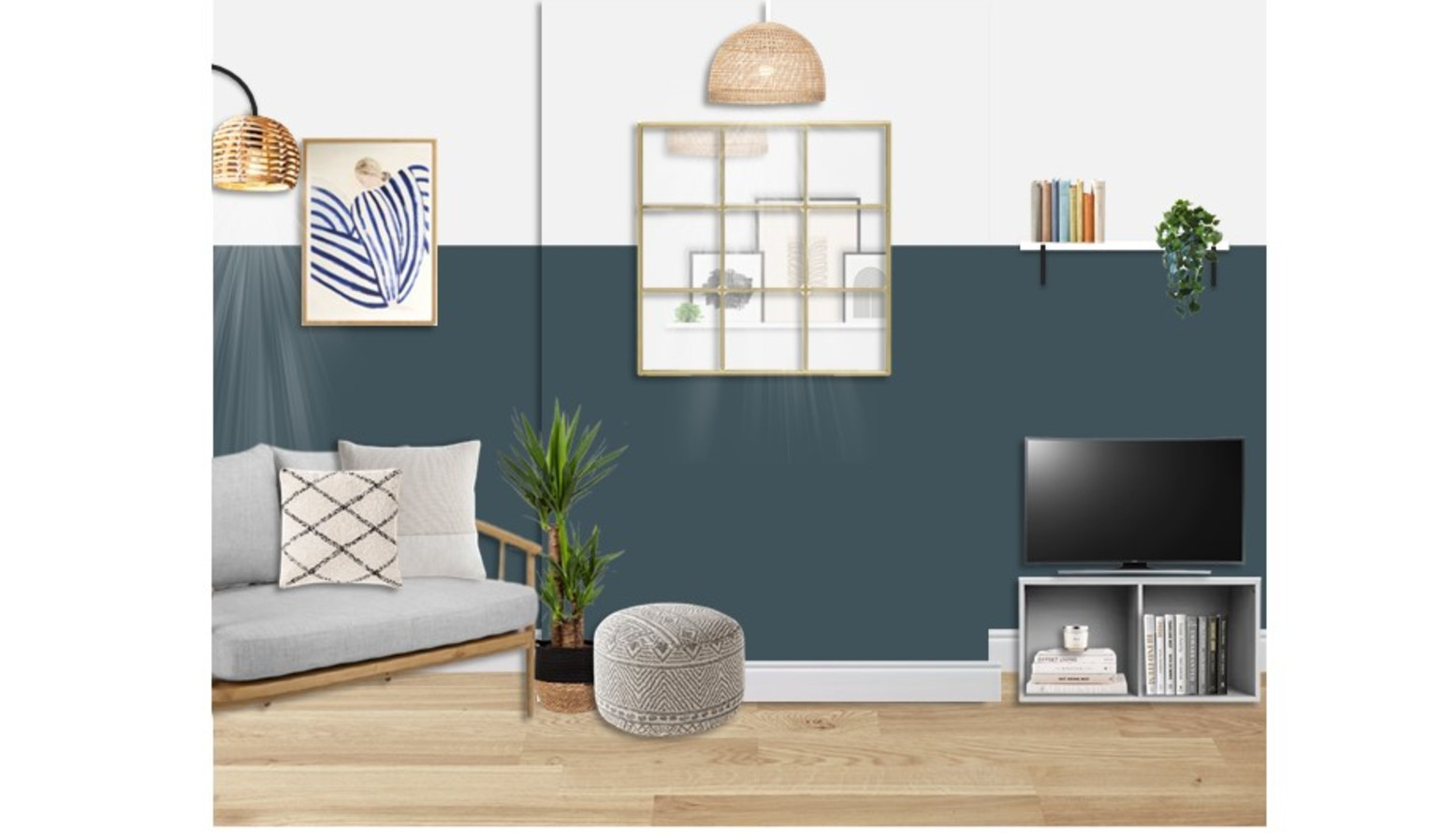Lucy flat   living vis 1