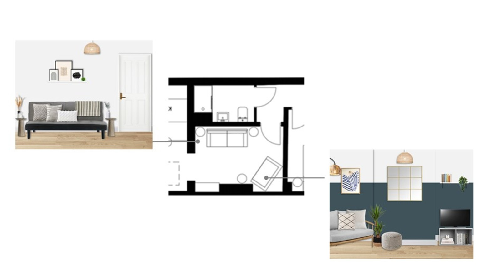 Lucy flat   living plan 1