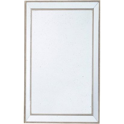 Florence speckled mirror with angled mirrored frame large 25447 p