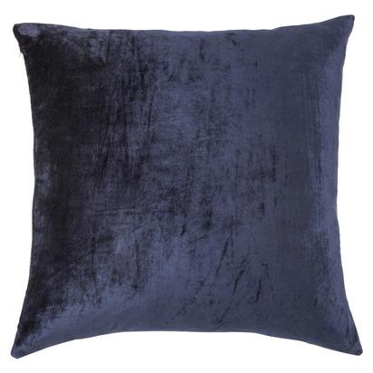 Francis velvet cushion ink mink 50x50 front