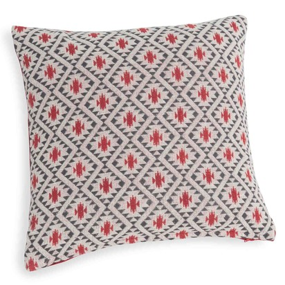 Jema cotton cushion cover with red designs 40 x 40 cm 1000 2 12 166636 1