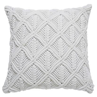 Malame white cotton cushion 45 x 45 cm 1000 2 22 169475 1
