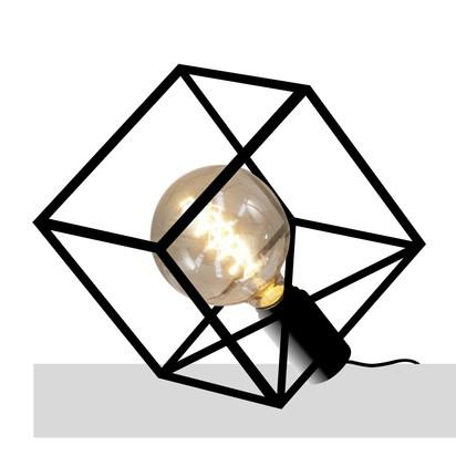 Paradice naked table lamp black iron dyberg larsen frank kerdil clippings 8850411