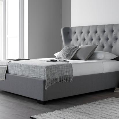 Winged grey bed originalnew 1