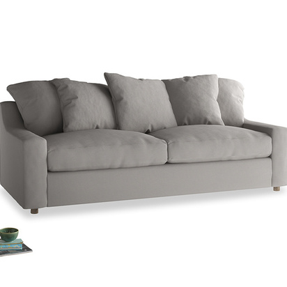 2027286 large cloud bed sofa in safe grey clever linen 217929 loaf
