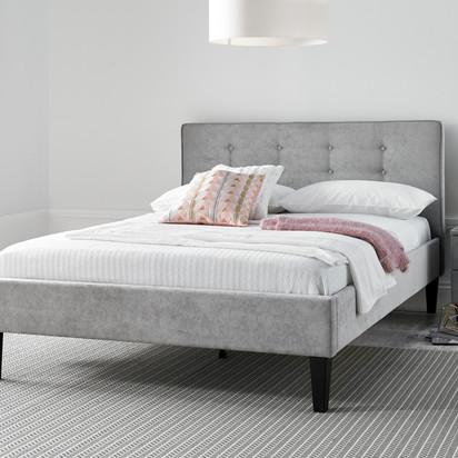 Budget grey bed originalnew