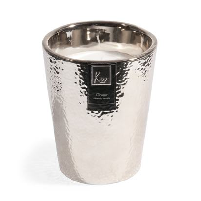 Silver candle in jar h 15 cm 1000 2 25 119376 1