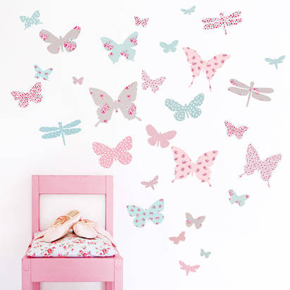 Original butterfly wall stickers