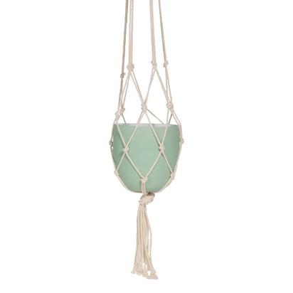 Mint green metal hanging planter 1000 13 21 169146 1