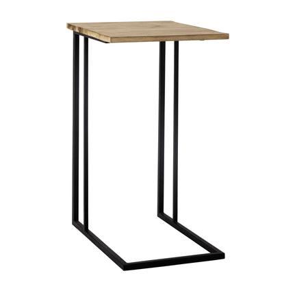Andrew metal side table in black w 40cm 1000 6 24 155250 1