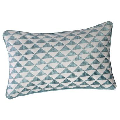 Mix blue cotton cushion 30 x 50cm 1000 1 5 156707 12