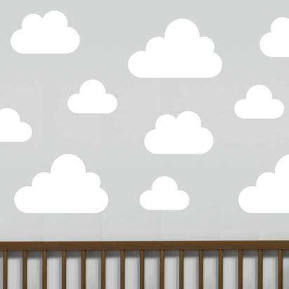 Original cloud wall stickers