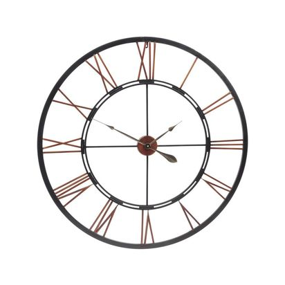 Millhouse oversized metal skeleton wall clock 16332 p