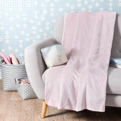 Chantilly pink throw 150 x 230 cm 1000 15 12 144906 4