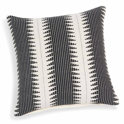 Figueira cotton cushion cover white black 40 x 40 cm 1000 7 27 158328 1