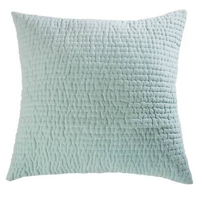 Aqua velvet quilted cushion 60 x 60 cm 1000 7 22 167712 1