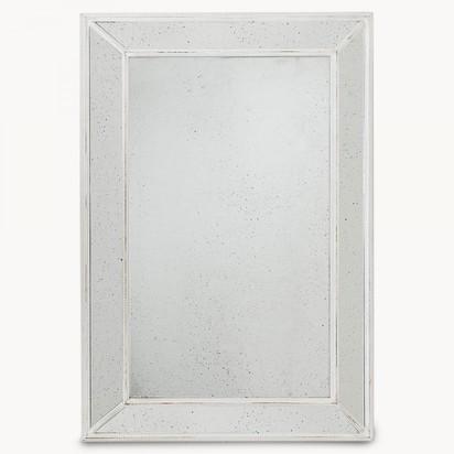 Wilton distressed glass white mirror rf7068w 1.1870