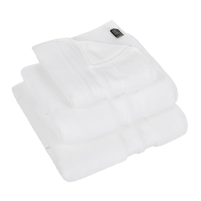 Super soft cotton towel white bath towel 402232