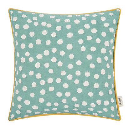 Dots cushion dusty blue 513459