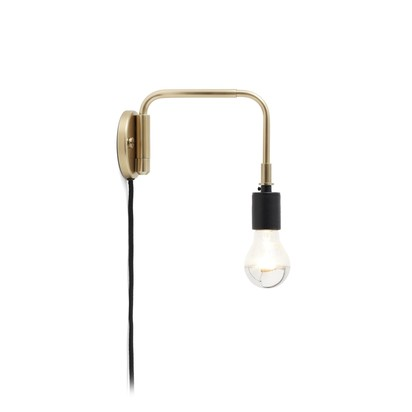 Staple wall light brass menu soren rose studio clippings 1480481