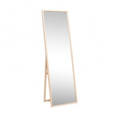 Hpl8903 oak floor mirror