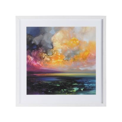 Isle of jura emerges framed print by scott naismith 78347 p