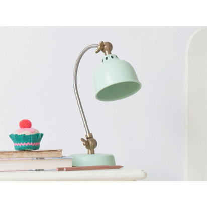 1909078 mini gaston in sage green kids small bedside lamp