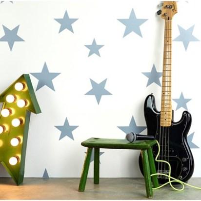 Stars wallpaper white stellar blue hibou home