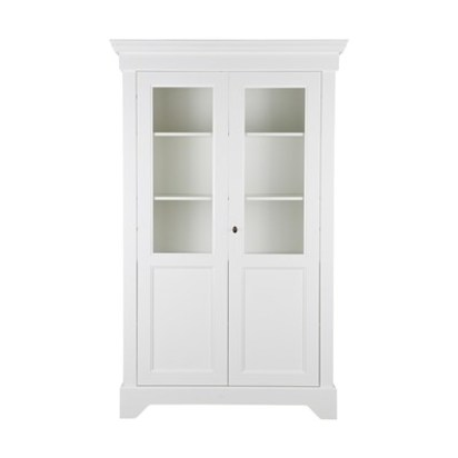 Anna display cabinet in white