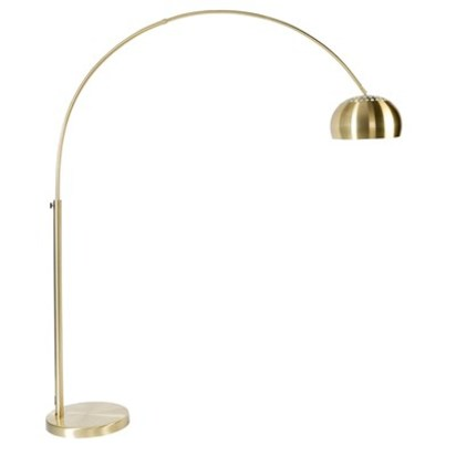 Gold metal bow lamp
