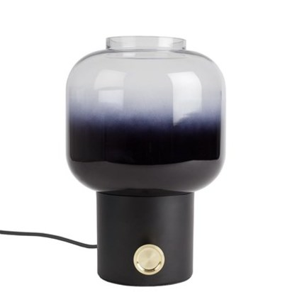 Zuiver black glass ombre light