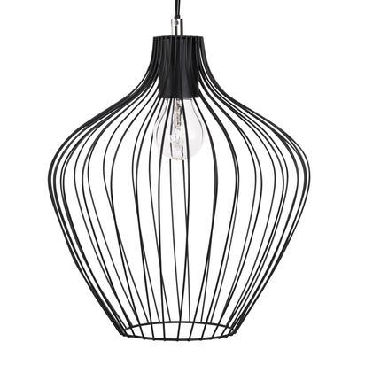 Black wire pendant light 1000 7 3 179952 1