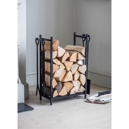 Rectangular log holder with 4 tools lhtl01