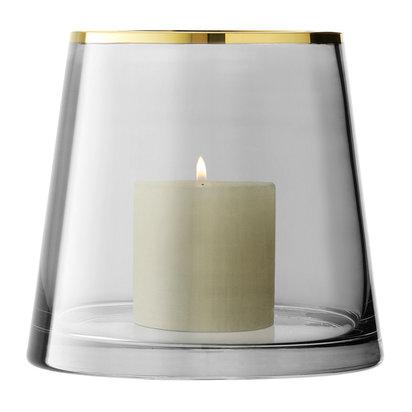 Sorbet glass vase lantern liquorice 16cm 156750