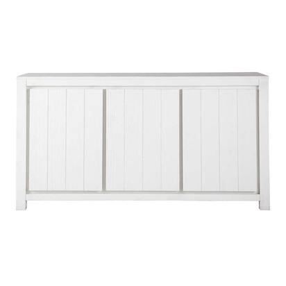 Solid wood sideboard in white w 160cm white 1000 8 5 140717 1