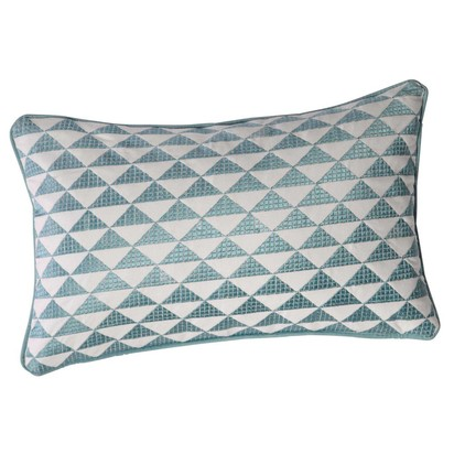 Mix blue cotton cushion 30 x 50cm 1000 1 5 156707 12