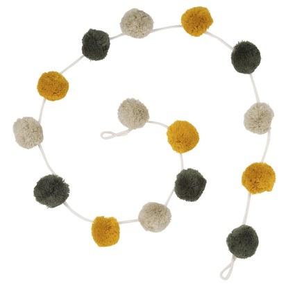 Wool pom pom garland l 72 cm 1000 8 6 173272 1