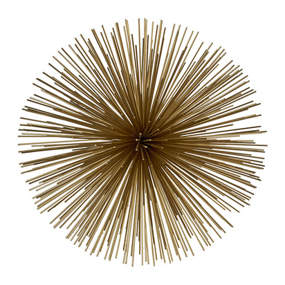 Prickle decorative ornament brass large 274689