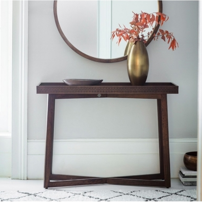 Cult living zephyr console table solid wood brown p12490 151526 image