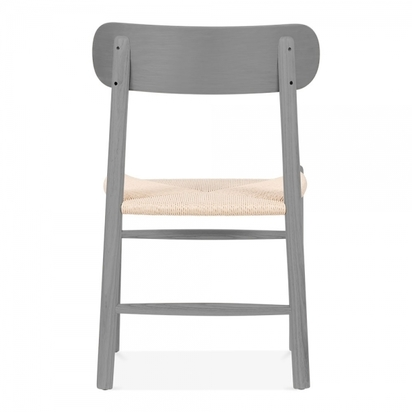 Cult living anders dining chair beech wood natural rattan seat grey p8751 106365 image