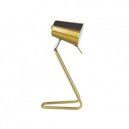 Leitmotiv z style metal table lamp brass p6329 81458 image