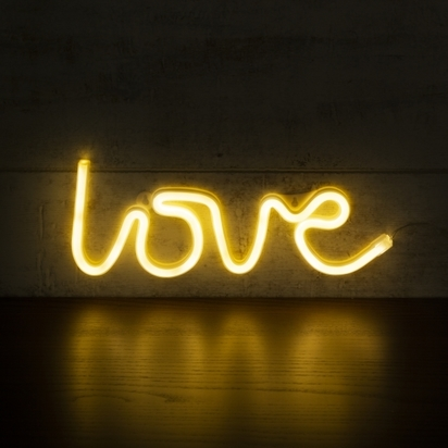 Cult living love led neon sign wall light white p11090 152514 image