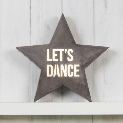 Cult living star metal light box 14 lets dance p2590 28598 image