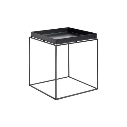 Tray square side table hay hay clippings 10367771